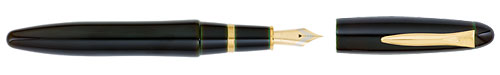 Sora (Dark Green) finish - Fountain Pen shown