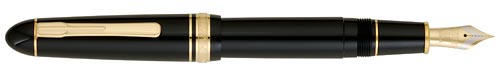 Black finish - Fountain Pen shown