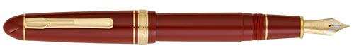 Burgundy finish - Fountain Pen shown