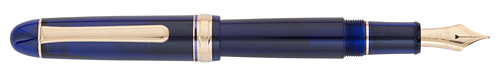 Chartres Blue  finish - Fountain Pen shown