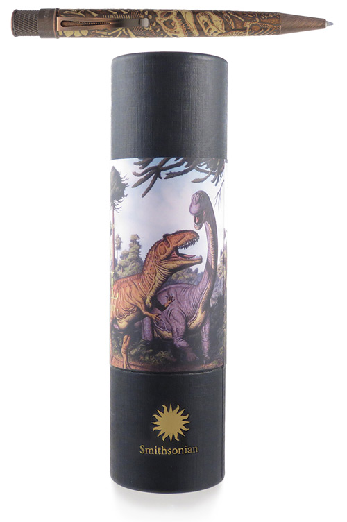 Smithsonian-Dino Fossil finish - Rollerball shown