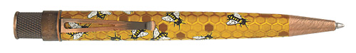 Buzz-Honey Bee Tornado - Honeycomb Texture  finish - Rollerball shown