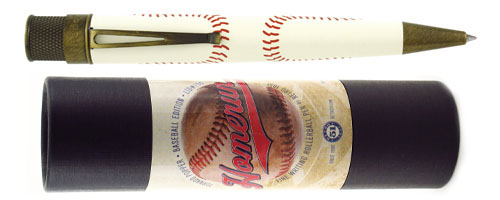 Retro 51 Limited Editions - Tornado Popper Homerun - Year: 2015 - Baseball - Edition: 750 Pens - Rollerball