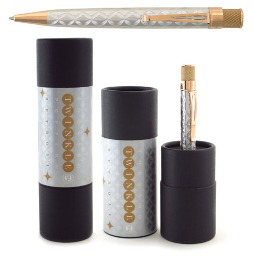 Retro 51 Limited Editions - Tornado Popper Twinkle - Year: 2015 - Twinkle  - Edition: 1225 Pens - Rollerball