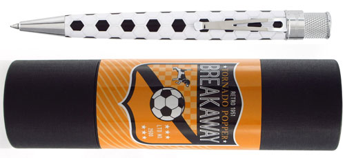 Retro 51 Limited Editions - Tornado Popper Breakaway - Year: 2016 - Soccer - Edition: 2500 Pens - Rollerball