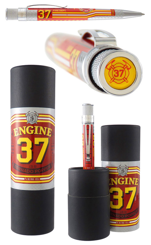 Retro 51 Limited Editions - Tornado Popper Engine 37 - Year: 2018 - Fire Engine - SORRY SOLD OUT IN 24 HOURS!! - Edition: 937 - Rollerball