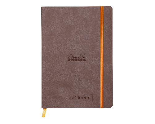 Chocolate - Dot Grid 5 3/4 in. x 8 1/4 in. finish - Notebook shown