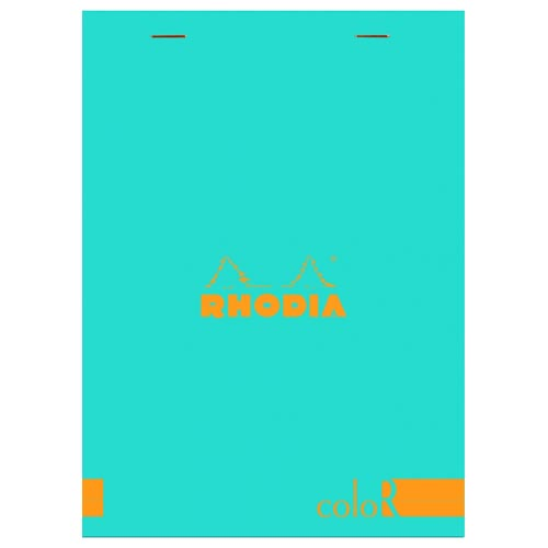 Turquoise Premium Lined Notepad  -70 Sheets finish - 6 in. x 8 1/4 in. shown