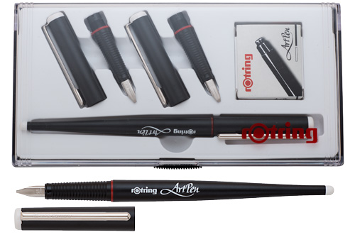 Fountain pen hospital rotring calligraphy collection