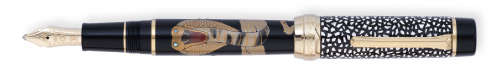 Sailor Limited Editions - Kings of the Natural World - 28 Pens Worldwide - Year: 2013 - King Cobra - Edition: 28 Pens - Fountain Pen