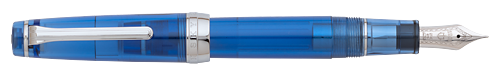 Sky   finish - Fountain Pen (21kt Nib) shown