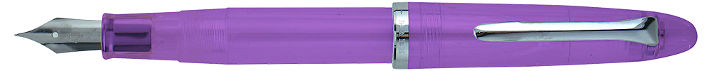 Purple Transparent   (September Release) finish - Fountain Pen shown