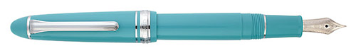 Fresca Blue finish - Fountain Pen (14kt Nib) shown