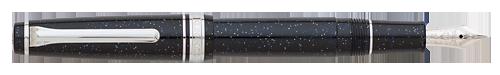Sailor Limited Editions - Starburst Galaxy Professional Gear Slim - Year: 2015 - Black Starburst  Galaxy - Edition: 500 Fountain Pens - Fountain Pen (14kt Gold Nib)