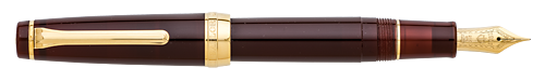 Earth Brown  finish - Professional Gear Fountain Pen shown