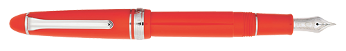 Tangerine  finish - Fountain Pen (14kt Nib) shown