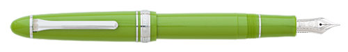 Key Lime  finish - Fountain Pen  (14kt Nib) shown