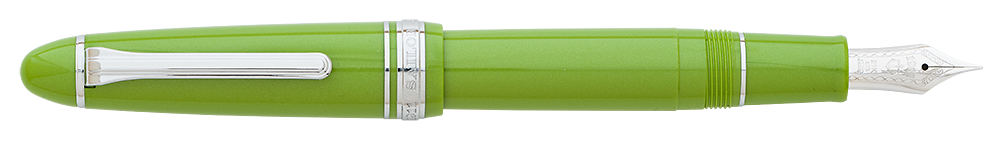 Key Lime (21kt Nib) finish - Fountain Pen shown