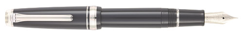 Graphite Lighthouse / Rhodium  finish - Fountain Pen (21kt Nib) shown