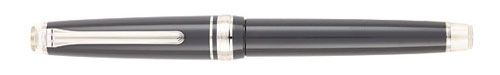 Graphite Lighthouse / Rhodium finish - Fountain Pen (14kt Nib) shown