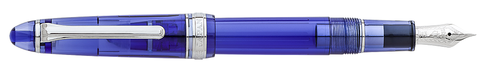 Sailor Limited Editions - Blue Moon 1911S FPH Exclusive - Year: 2019 - Blue Demonstrator      - Edition: 80 Pens - 1911S - 1911 Standard Fountain Pen (14kt Gold Nib)