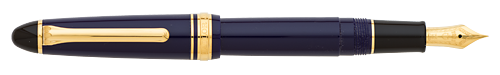 Blue finish - Fountain Pen (14kt Nib) shown