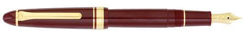 Maroon finish - Fountain Pen (14kt Nib) shown