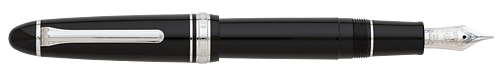 Black/Silver (21kt  Nib) finish - Fountain Pen shown