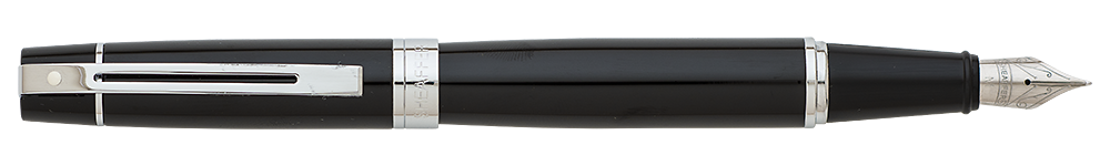 Gloss Black/Chrome finish - Fountain Pen shown