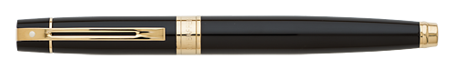 Gloss Black/Gold finish - Rollerball shown