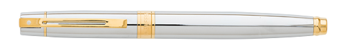Chrome & Gold Tone Trim  finish - Rollerball shown
