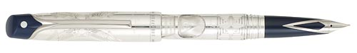 Sheaffer Limited Editions - Stars of Egypt - Year: 2006 - Sterling Silver - Edition: 499 Fountain Pens - Fountain Pen
