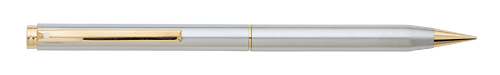 Brushed Stainless GT- Button Activated finish - Pencil 0.7mm shown