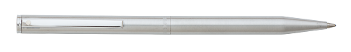 Brushed Stainless Steel - Twist Action finish - Ball Pen shown