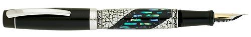 Taccia Limited Editions - Snowy Dreams - Year: 2010 - Maki-e with Abalone - Edition: 50 Fountain Pens - Fountain Pen