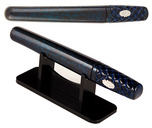 Taccia Limited Editions - Tanto Hirame-Ji  Water  - Year: 2014 - Blue - Edition: Pens - Fountain Pen