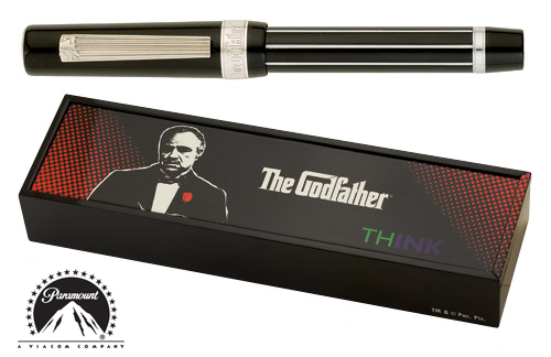 Think Limited Editions - Godfather - Year: 2009 - Pinstripe - Edition: 888 Fountain Pens - Fountain Pen