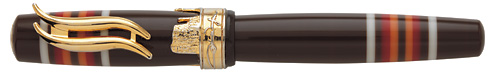 Think Limited Editions - John Wayne - Year: 2012 - Brown/Gold - Edition: 888 Fountain Pens - Fountain Pen