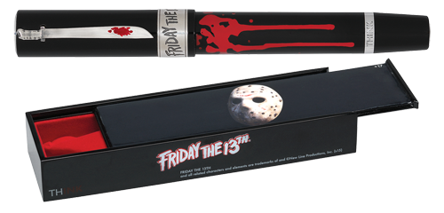 Think Limited Editions - Friday the 13th - Year: 2015 - Black/Silver Vermeil   - Edition: 888 Rollerballs - Rollerball