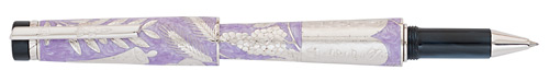 Silver/Purple Enamel finish - Rollerball shown