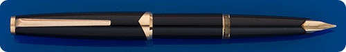 Montblanc #121 - Black - Gold Filled Trim  - Cartridge Or Converter Fill