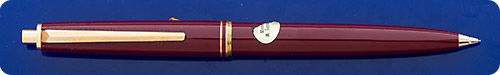 Montblanc #251R - Burgundy Pencil - Gold Filled Trim - New In Box