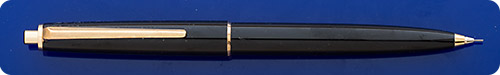 Montblanc #350 - Black Pencil - Gold Filled Trim - New In Box