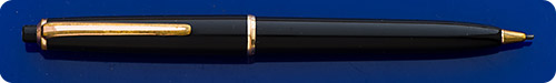 Montblanc #36 - Black Pencil - Gold Filled Trim  - Button Activated