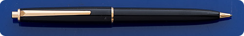 Montblanc #320 - Black Pencil - Gold Filled Trim - Top Button Activated