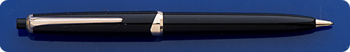 Montblanc #15 Black Pix Pencil - Gold Filled Trim - Top Button Activated