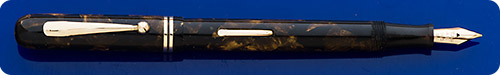 Weidlich - Brown Marble - Lever Fill - Gold Filled Trim