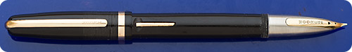 Moore Fingertip - Black - Gold Filled Trim - Lever Fill