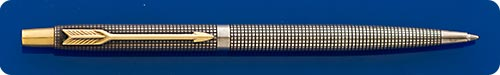 Parker Classic Sterling Silver Ball Pen - Cisele Design - Button Activated