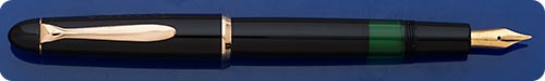 Pelikan #120 Black - Gold Filled Trim - Piston Fill